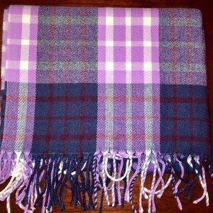 nwt jcrew classic plaid scarf h2853